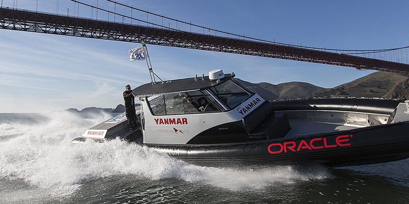 Yanmar shooting / SFO Jan Testing Session / ORACLE TEAM USA / San Francisco (USA) / 21-01-2013